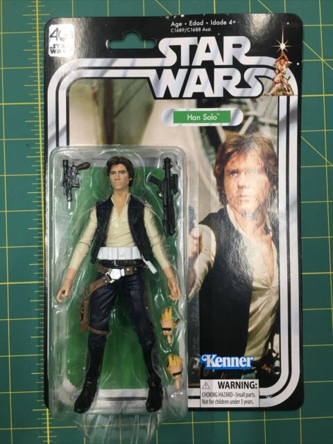 New But Open. See Details. Star Wars The Black Series Han Solo 40th Anniversary.