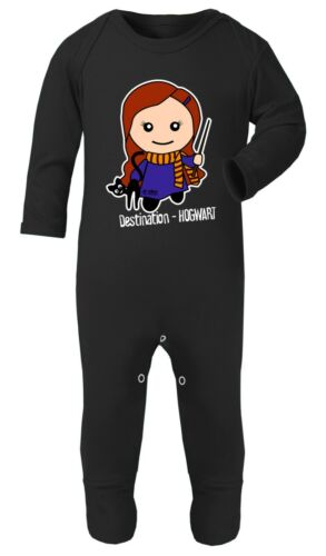 Harry Potter Hermione Granger 0-24 Bodysuit Babygrow Playsuit Cotton Gift Baby