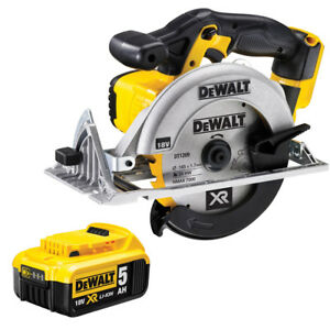 Dewalt-DCS391N-18v-XR-Li-ion-165mm-Circular-Saw-1-x-5ah-Battery