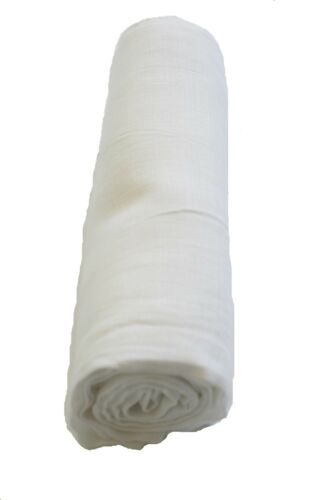 Jannuzzi White New High Quality 100/% Soft Muslin Cotton Swaddle blanket