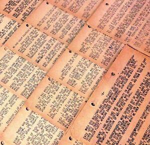 WWII Ernie Pyle Original Typed Manuscript Inv. of Sicily 31 pages 1943 Brave Men