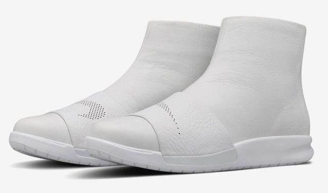 Nike Benassi Lux Boot 819683-100 Weiß Leder UK UK Leder 4 EU 37.5 US 6.5 23.5cm New 0e0c9b