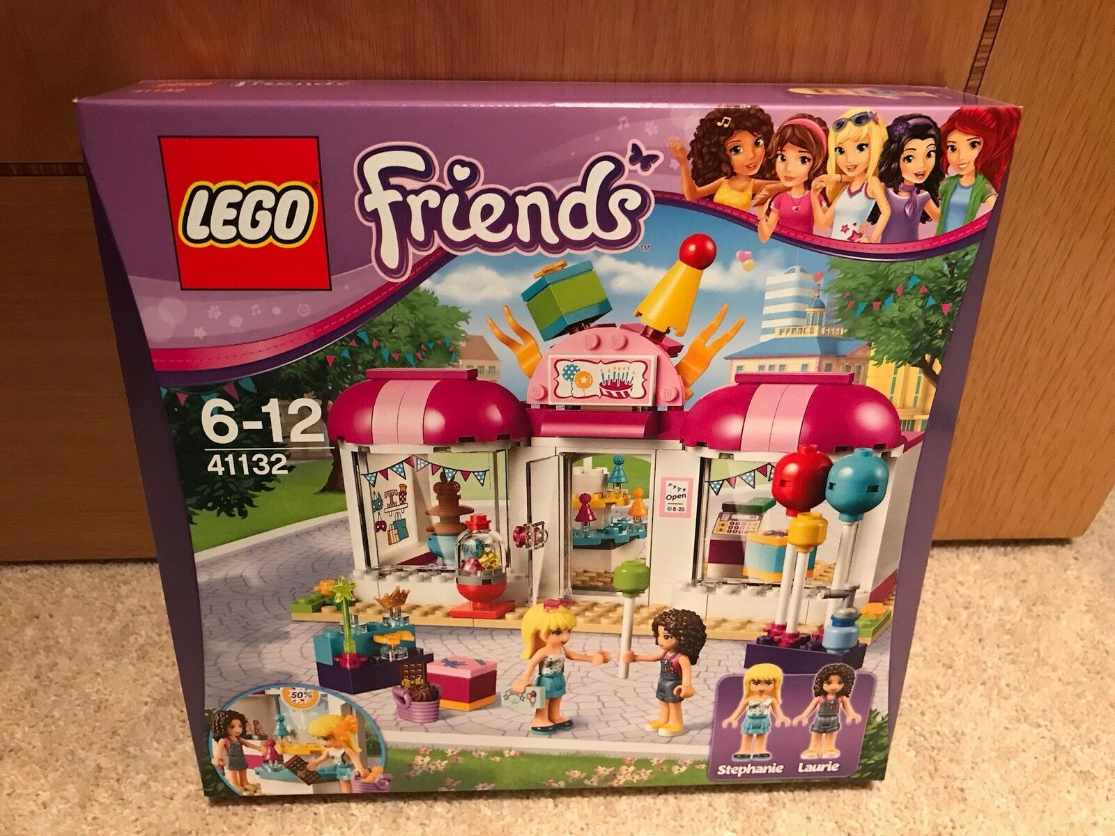 Lego 41132 Friends Heartlake Party Shop 41132  NEW