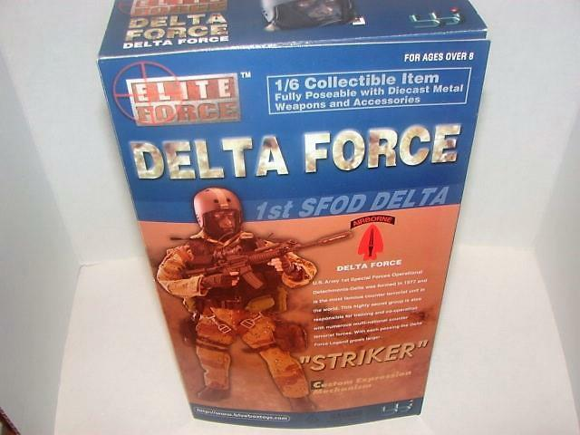 Elite ForceDelta Force 1 6 Scale 12  Action FigureStriker1st SFOD Delta