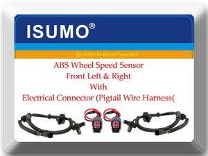 Series F 4WD 2 Connector of ABS Wheel Speed Sensor ALS197 Front L//R Fits