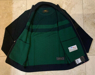Rapha Nelson Vails Knitted Track Jacket Dark Green Medium Brand New With Tag