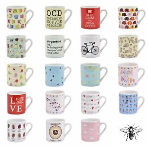 Espresso-Cup-Coffee-Mug-Small-VARIOUS-Designs-Cute-Mother-039-s-Day-Gift-Kitchen
