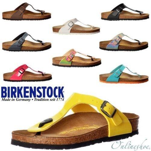 Mujeres Birkenstock Clásico Guiza Birkoflor Tira Para Dedo Sandalia Talla