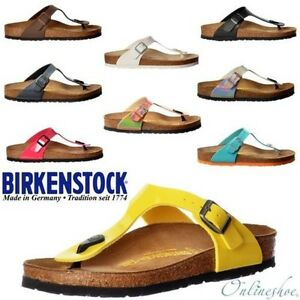 Mujeres-Birkenstock-Clasico-Guiza-Birkoflor-Tira-Para-Dedo-Sandalia-Talla