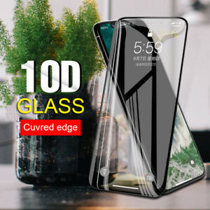 Full-Cover-10D-Tempered-Glass-For-iPhone-XS-MAX-XR-8-7-6Plus-Screen-Protector-aa