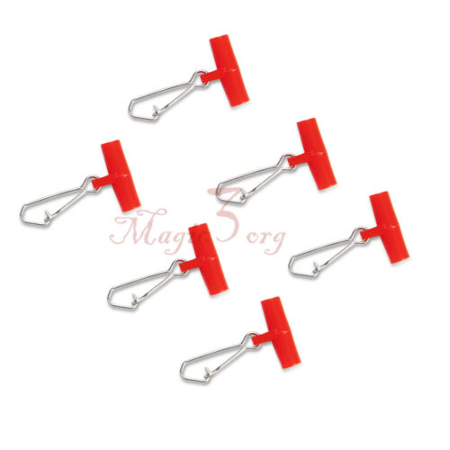 30 X Fishing Weight Slide with Duo-lock Snaps Safety Snap Fishing Line Connector