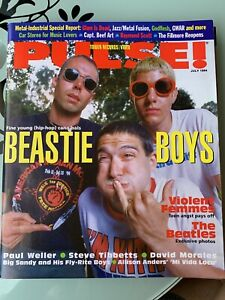 TOWER RECORDS / VIDEO PULSE MAGAZINE JULY 1994 (VG/FN) BEASTIE BOYS