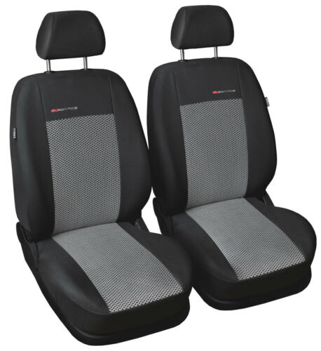 Car seat covers for front seats fit Audi A4 grey pair #2