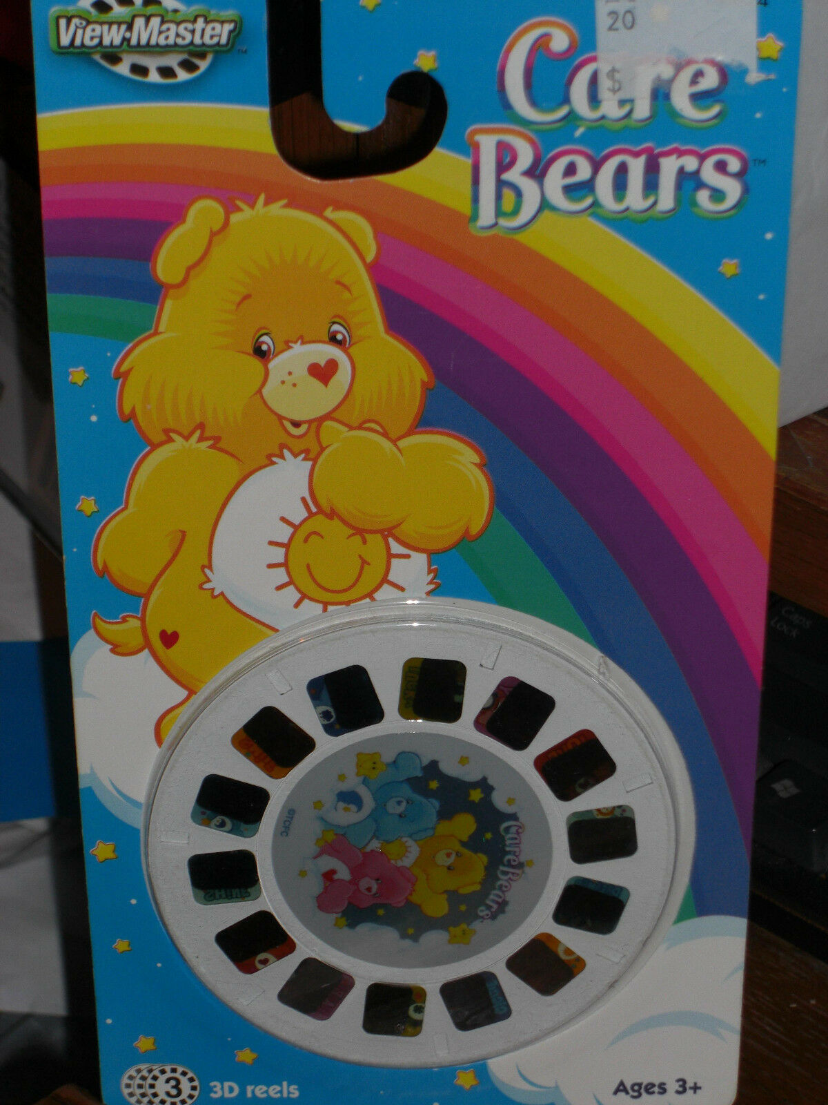 2005 VIEW MASTER CARE BEARS 3D REELS  H4824