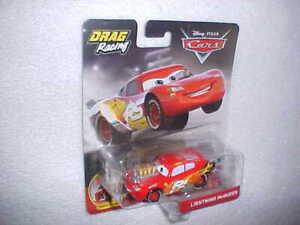 HW-DISNEY-PIXAR-CARS-DRAG-RACING-034-LIGHTNING-MCQUEEN-034-w-MOVING-PISTONS-VHTF-NEW