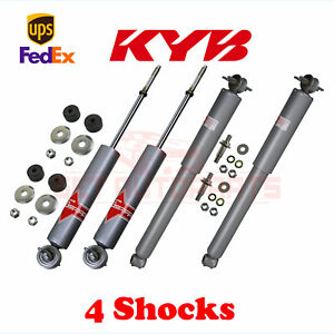 KYB-Kit-4-Front-amp-Rear-Shocks-GAS-A-JUST-for-CHEVROLET-Chevelle-1968-72