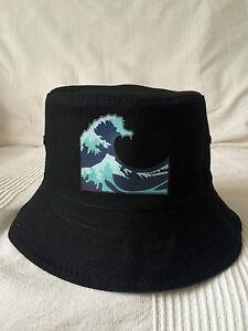10385ad6d50 Bucket Hat Kanagawa Wave Very RARE vaporwave Yung Lean supreme cap ...
