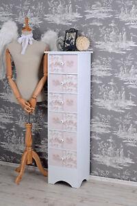 Commode style maison de campagne Armoire toile jouy rose chambre d ...