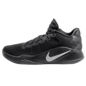 9276cd32480 Nike Hyperdunk 2016 Low Mens 844363-002 Black Silver Basketball ...