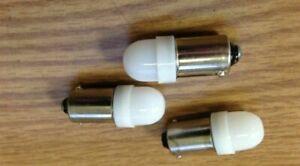 Vintage Heathkit  SB-301 / SB-303 / SB-313  HAM radio front panel LED lamps.