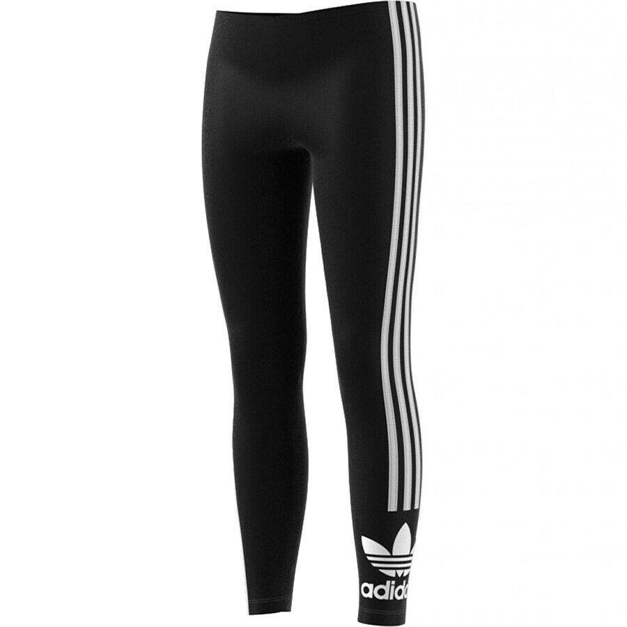 Adidas Leggins Lock Up Tights Fm5686 Pantaloni Ginnastica Donna Nero Ragazza
