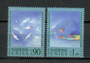 s33885 ONU UNITED NATIONS Geneve MNH** 1998 Human Rights 2v join issue iITALIA