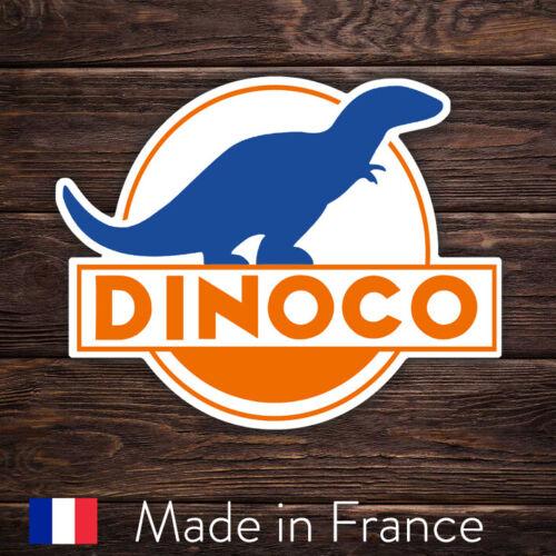 Laptop Mur Smartphone Autocollant Sticker Dinoco Cars PIXAR 9cm LSD002