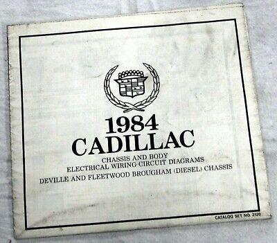 1984 CADILLAC DEVILLE & FLEETWOOD BROUGHAM (DIESEL ...