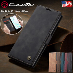 For-Samsung-Galaxy-Note-10-Plus-5G-Magnetic-Leather-Flip-Wallet-Phone-Case-Cover