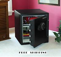 Combination Fireproof Safe Home Sentry Security Fire Chest Lock Gun Cash Office