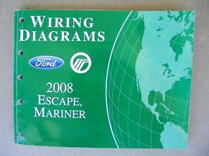 2008 Ford Escape / Mercury Mariner Wiring Diagrams OEM ...