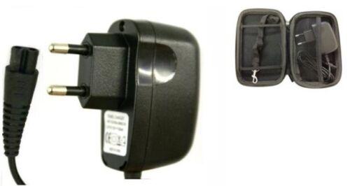 2 Pin UK Cavo di alimentazione caricatore per Philips Rasoio HQ7380 Custodia Gratis