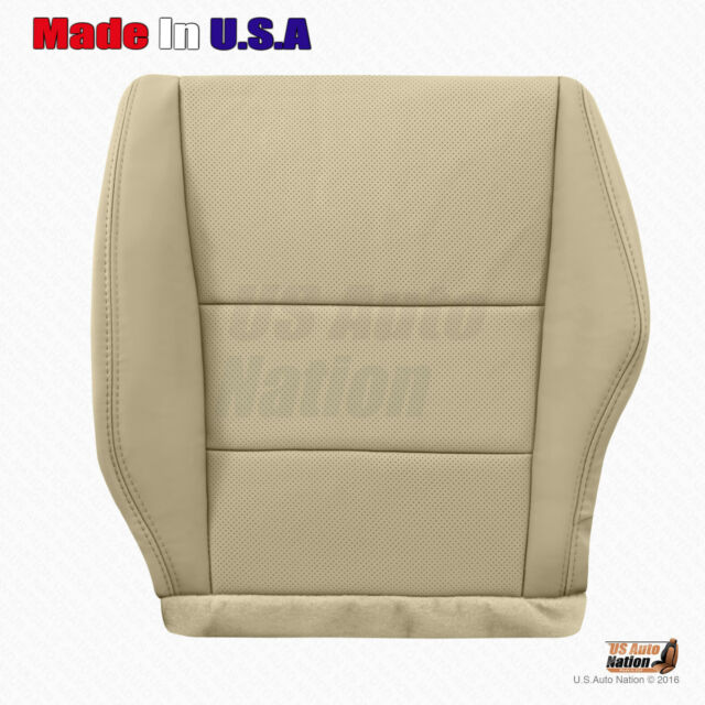Fits 2011 2012 Acura RDX Driver Bottom Perforated Leather