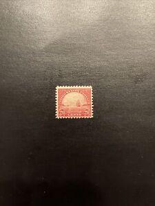 US Stamp Scott #567 Mint Hinged OG …20 cent Golden Gate 1923