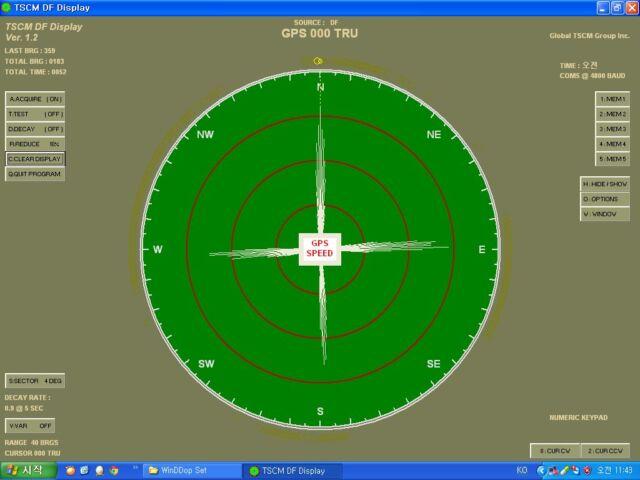 Radio Direction Finder DDF2020T TSCM Doppler DFer Ham Radio ANTENNA TRANSCEIVER