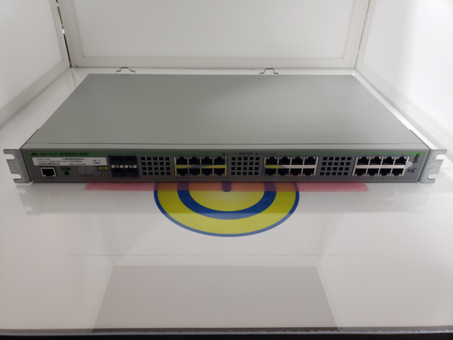 Allied Telesis AT 9924T managed 24 ports Advanced Layer 3+ Gigabit Switch