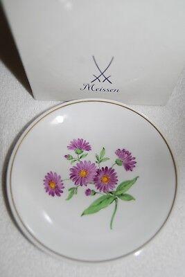 Original Meissen Wandteller Blumenmalerei Blume 9 Zu Verkaufen