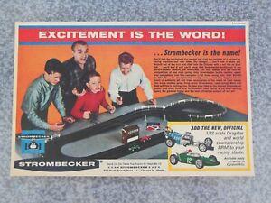 VINTAGE 1963 STROMBECKER 1/32 DRAGSTER BRM SLOT CAR