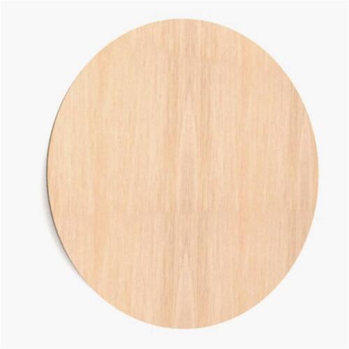 Kreis aus Holz Basteln Malen Dekoration Bilderrahmen Holzscheibe (W69)