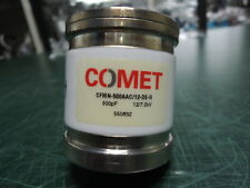 Comet Vacuum Capacitor Cfmn 500aac12 De G 500pf Free Expedited Shipping