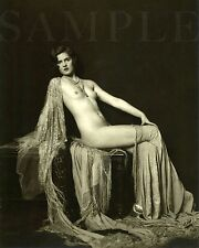 Vintage 1990 Nude Woman Picture 8x10 Photo Picture Celebrity Print
