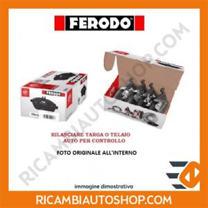 199 KIT PASTIGLIE FRENO ANTERIORE FERODO FIAT PUNTO 0.9 KW:77 2013/> FDB4353