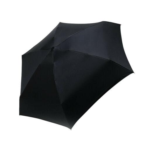 Small Pocket Compact Umbrella Sun Anti UV 5 Folding Rain Windproof Travel CL