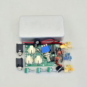 delay diy guitar pedal kit delay 1 with1590b aluminum metal box ebay. Black Bedroom Furniture Sets. Home Design Ideas