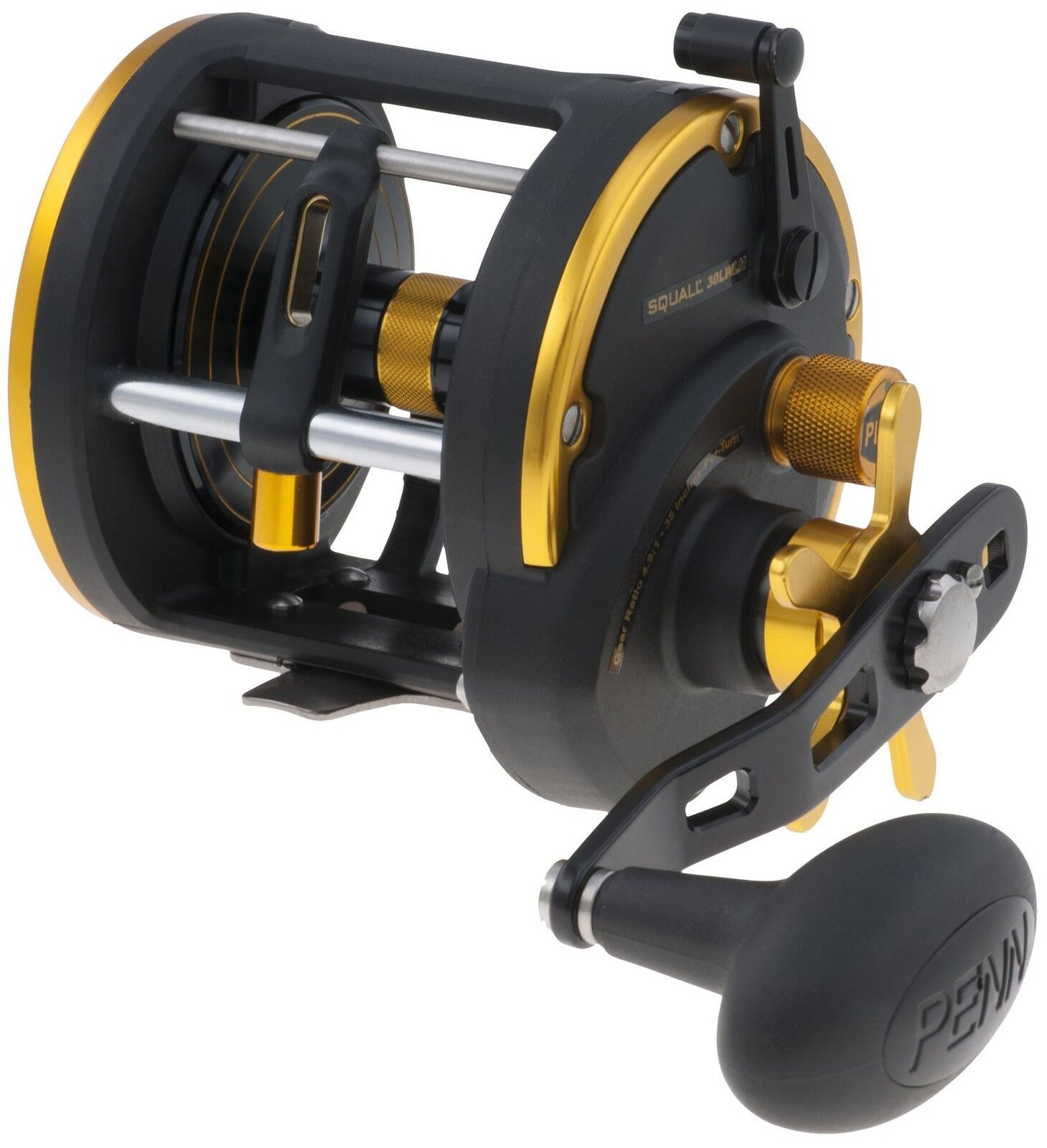 Penn Squall 30 Levelwind Left Hand   Sea Fishing Reel   1292944