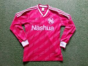 huge selection of 35bce 7527c Details about Hannover 96 Jersey M Adidas Football Shirt Soccer Jersey  Nashua