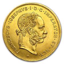 1892 Austria 4 Florin/10 Francs Gold Coin - AU or Better - SKU #24022