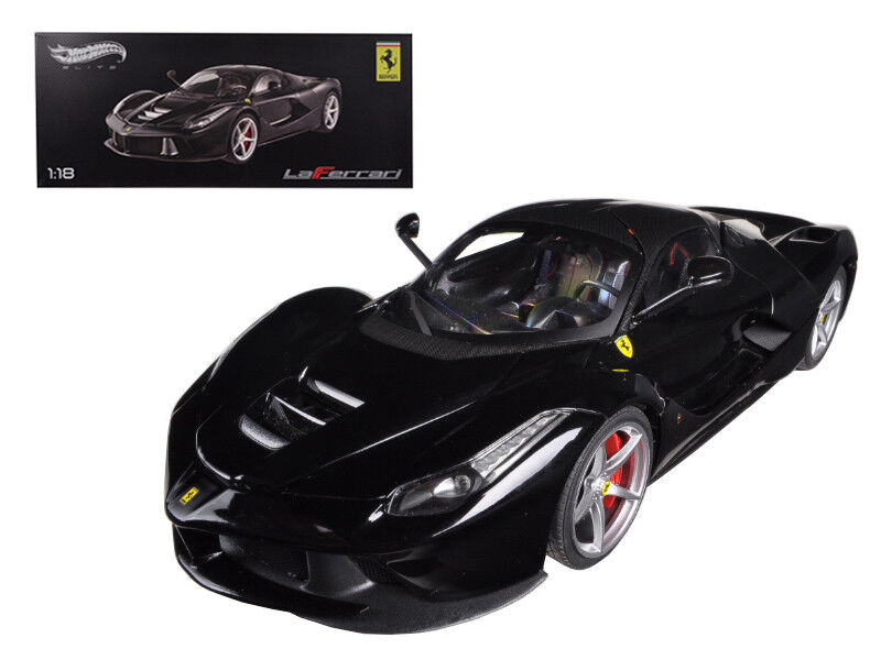 Ferrari LaFerrari F70 híbrido 1 18 nero Modelo Diecast-hot Wheels Elite BCT 80