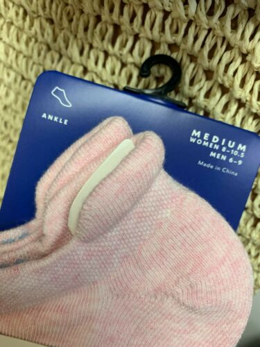 Women/'s Medium Authentic CORAL 3-Pack Bombas Classic Marls Ankle Socks