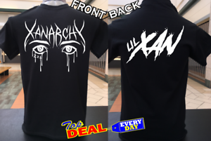 Lil Xan Xanarchy T shirt Black Front And Back